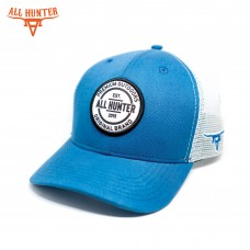 Boné All Hunter Azul Branco