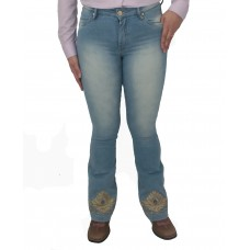 Calça Flare Bill Way Country Delave