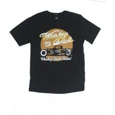Camiseta Strut Estampada Preta