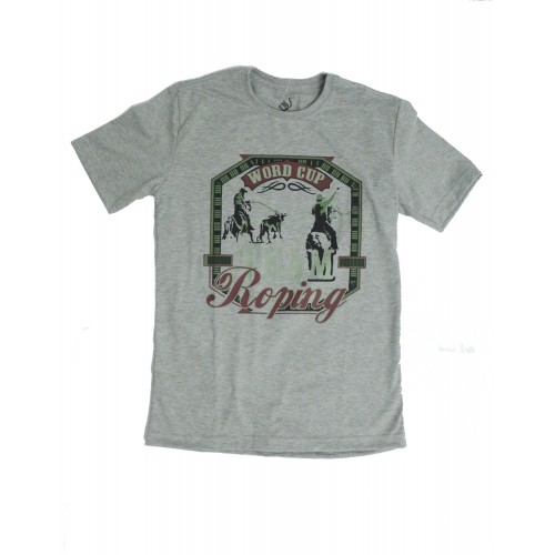 Camiseta Strut Estampada Cinza