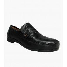 Sapato Masculino Opananken em Couro de Avestruz Cheio